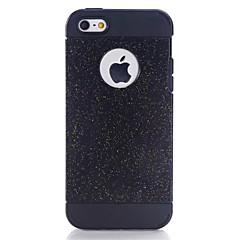 hybride de luxe TPU dur éclat bling brillant avec étui de couverture strass cristal pour Apple iPhone 5 / 5s