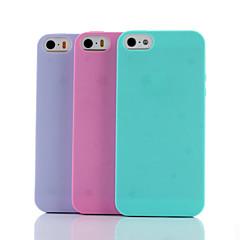 별빛 아래 첫 사랑은 아이폰 5 / 5S (모듬 색상)를 소프트 커버를 TPU