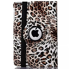 Leopard Print PU Leather 360⁰ Cases/Smart Covers iPad 2/iPad 3/iPad 4(Assorted Colors)