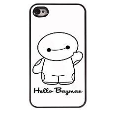 Cartoon Design and Hello Design Aluminum Hard Case for iPhone 4/4S