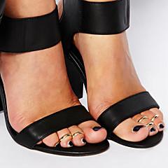 Kadın Vücut Mücevheri Ayak Parmağı Yüzüğü alaşım Eşsiz Tasarım Moda minimalist tarzı Mücevher Gümüş Altın Mücevher Günlük 1pc