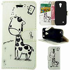 gym giraf mønster hele kroppen tilfældet for Samsung Galaxy s4 mini i9190