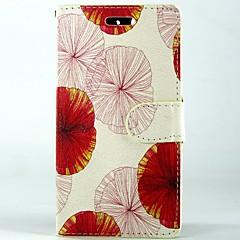 Mert Huawei tok Pénztárca / Kártyatartó / Állvánnyal / Flip Case Teljes védelem Case Virág Kemény Műbőr Huawei Huawei Y550