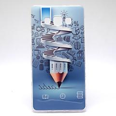 padrão escada lápis TPU capa mole para Samsung Galaxy a5