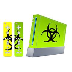 B-Skin® Wii Console Protective Sticker Cover Skin Controller Skin Sticker