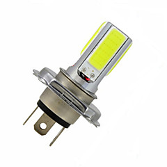 1 pcs  H4 10 W 4LED  COB 1200 LM 2800-3500/6000-6500 K Cool White Decoration Light DC 12 V