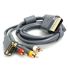 HD VGA AV  Audio/Video Cable for Xbox 360