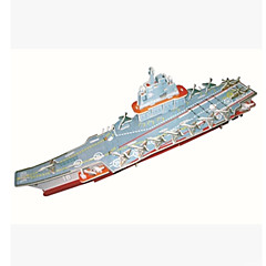 3D Aircraft Carrier Shaped Puzzle