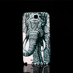norsu malli kansi fo Samsung Galaxy Note 2 n7100 tapauksessa