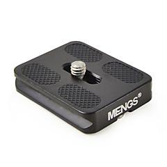 mengs® pu50 prato de liberação rápida para a câmera de vídeo DSLR