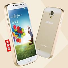 삼성 갤럭시 S4 i9500 패션 특별한 디자인 고급 금속 뒤 표지