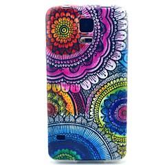 kwiatowy wzór TPU miękki futerał do Samsung Galaxy s3 / s3 mini / S4 / s4 mini / S5 / S5 mini