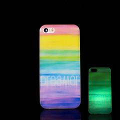 asteca brilho padrão de mandala no caso duro escuro para iphone 5 / iPhone 5 s