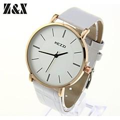 Men's Fashion Diamond Contracted Business Quartz Analog Steel Belt Watch(Assorted Colors)
