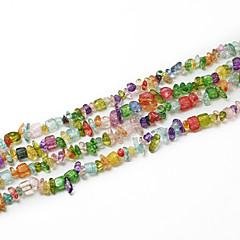 """beadia cuentas de piedras de cristal de colores surtidos 5-8mm forma irregular perlas sueltas DIY para hacer 34 collar pulsera """"/ str"""