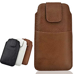 Common PU Material Litchi Plus Outer Bag to Wear a Belt Holster for Samsung S5 I9600 (Assorted Colors)