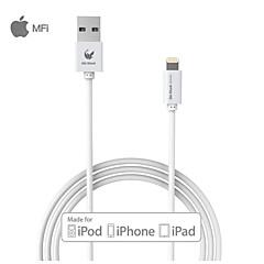 oldshark 3.3ft (1m) MFI fulmine certificato di sincronizzazione USB e cavo di ricarica per il iphone 5 / 5s / 6/6 più ipad mini /