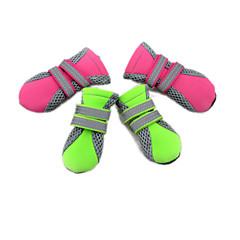 Todas las Estaciones - Verde / Rosado Material Mixto - Calcetines y Botas - Perros / Gatos - S / M / L / XL
