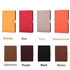 Classic Retro PU Pi Gaijia Bottom Bracket Intelligent Sleep Tablet PC Case for ipad mini1 2 3 (Assorted Colors)