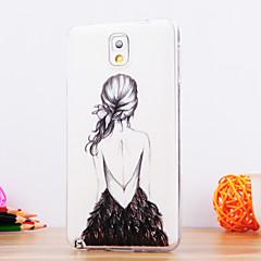 Na Samsung Galaxy Note Wzór Kılıf Etui na tył Kılıf Seksowna dziewczyna TPU Samsung Note 3