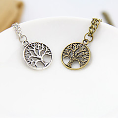 Sunshine Jewelry Store New European Style Tree Necklaces & Pendants