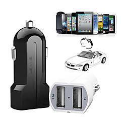 dual usb bil oplader til iPhone 6/6 plus iphone 5 / 5s / 5c ipad og andre (5v / 3.1a)