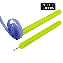 3PCS 볼륨 펜 관상 주름을 달기 종이 DIY 도구 (색상 랜덤)