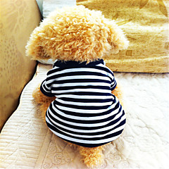 Verano - Azul - Cebra - Algodón - Camiseta - Perros - XS / S / M / L / XL