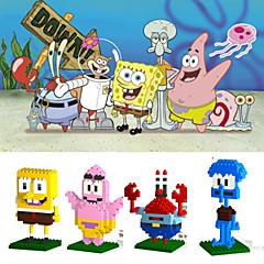 loz 4models / satt byggeklosser Spongebob Squarepants serie