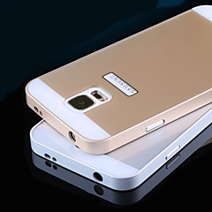 Metal Frame Acrylic Mirror Backplane Metal Hard Case for Samsung Galaxy S5 i9600 (Assorted Colors)