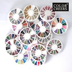 20 PCS Nail Art Decoration Wheels
