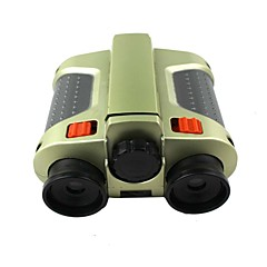 Green Film With lamp Night Vision Plastic Double Cylinder Focusing Telescope