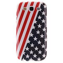 For Samsung Galaxy etui IMD Etui Bagcover Etui Flag TPU Samsung S3