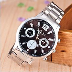 пары случай круглый циферблат сплава часы модного бренда кварцевые часы (более имеющийся цвет)