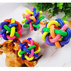 собака игрушка мяч игрушка nobbly шаткий радуги из полимерной ткани