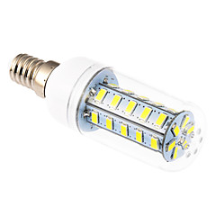 E14 9 W 36 SMD 5730 760 LM Cool White T Corn Bulbs AC 220-240 V