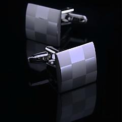 Argola - Toonykelly® - de Cobre - Botões de Punho 1set
