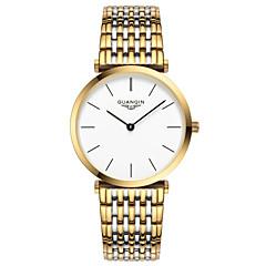 Bărbați Ceas de Mână Quartz Rezistent la Apă Oțel inoxidabil Bandă Argint / Auriu Marca
