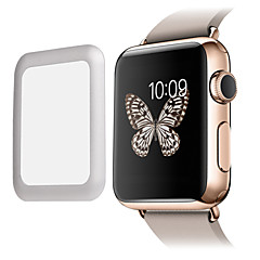 Premium Glass Film 0.2mm Real Tempered Glass with  Full Cover Metal Edge Screen Protector for Apple Watch Smart watch