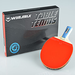 Winmax® 1 PCS 2 Stars Short Handle Table Tennis Racket/Paddle with A Color Packing Box