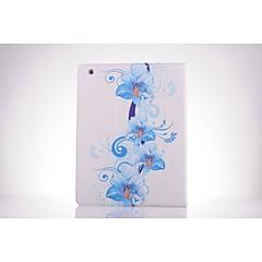 valkoisella taustalla orkidea pu nahka koko kehon tpu tapauksessa kortin haltijan iPad 2 / iPad 3 / iPad 4