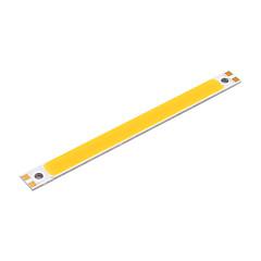 youoklight® 2pcs 10w cob 3000k 950lm quente tira de luz branca (dc 12 ~ 14V)