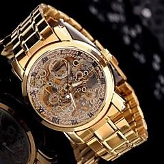 Gentleman Men's Golden Steel Automatic Mechanical Wrist Watch Luxury Watches in Box