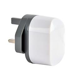 CE-sertifioitu dual usb seinään laturi, uk pistoke, 5v 2.4a ulostulo, iPhone 5 iPhone 6 / plus, iPad ilman, iPad mini, ipad4