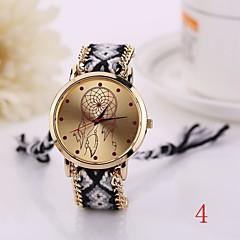 ny mote kvarts watch vevd stoff gullkjede armbånd se kvinner landets stil kvinner klokker damene armbåndsur