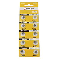 comsan ag4 377 Hochleistungs-Tasten-Batterien (10pcs)