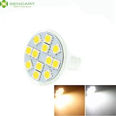 Mr11 gz4 gu4 g4 5w warm / koel wit / warm wit 12 x 5060smd led 420-500lm licht led lamp (ac / dc10-30v)