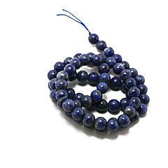 Beadia 39Cm/Str (Approx 60Pcs) Natural Blue Lapis Lazuli Beads 6mm Round Stone Loose Beads DIY Accessories