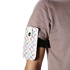 universella hackspett pu läder hänger Wist band handledsrem för mobiltelefon i 5,2 tum