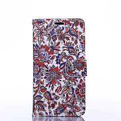 Classical Flowers Pattern PU Leather Full Body Case with Stand for Sony Z3